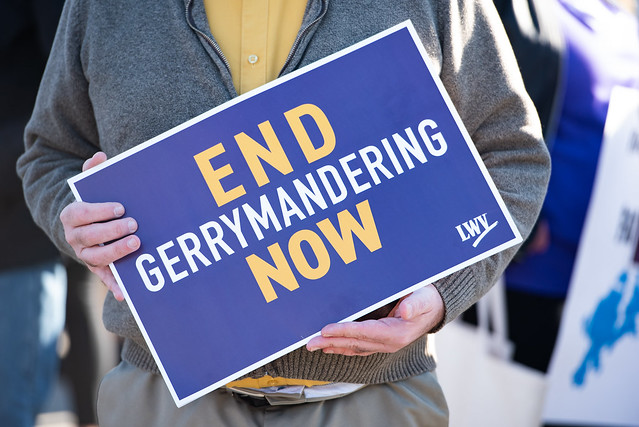 End Gerrymandering now