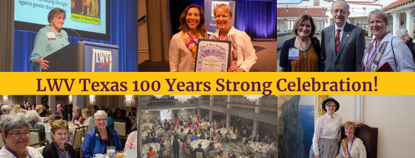 100 years strong LWV celebration