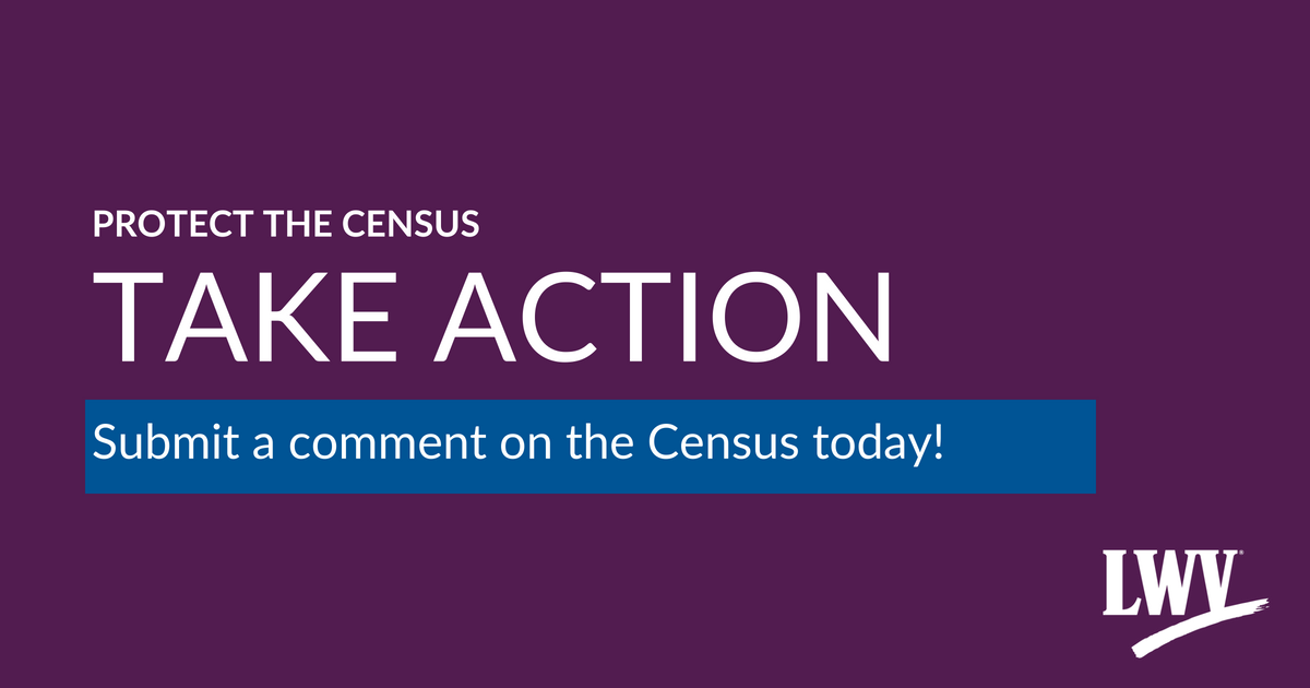 Take Action! Protect the Census