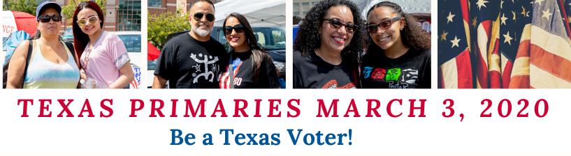 Texas Primaries graphic