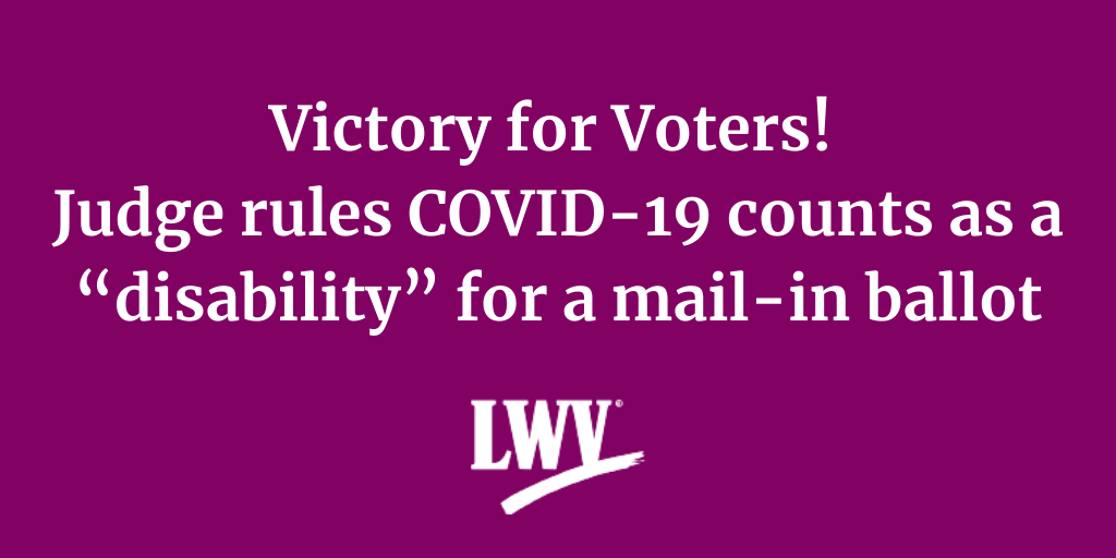 victory for voters