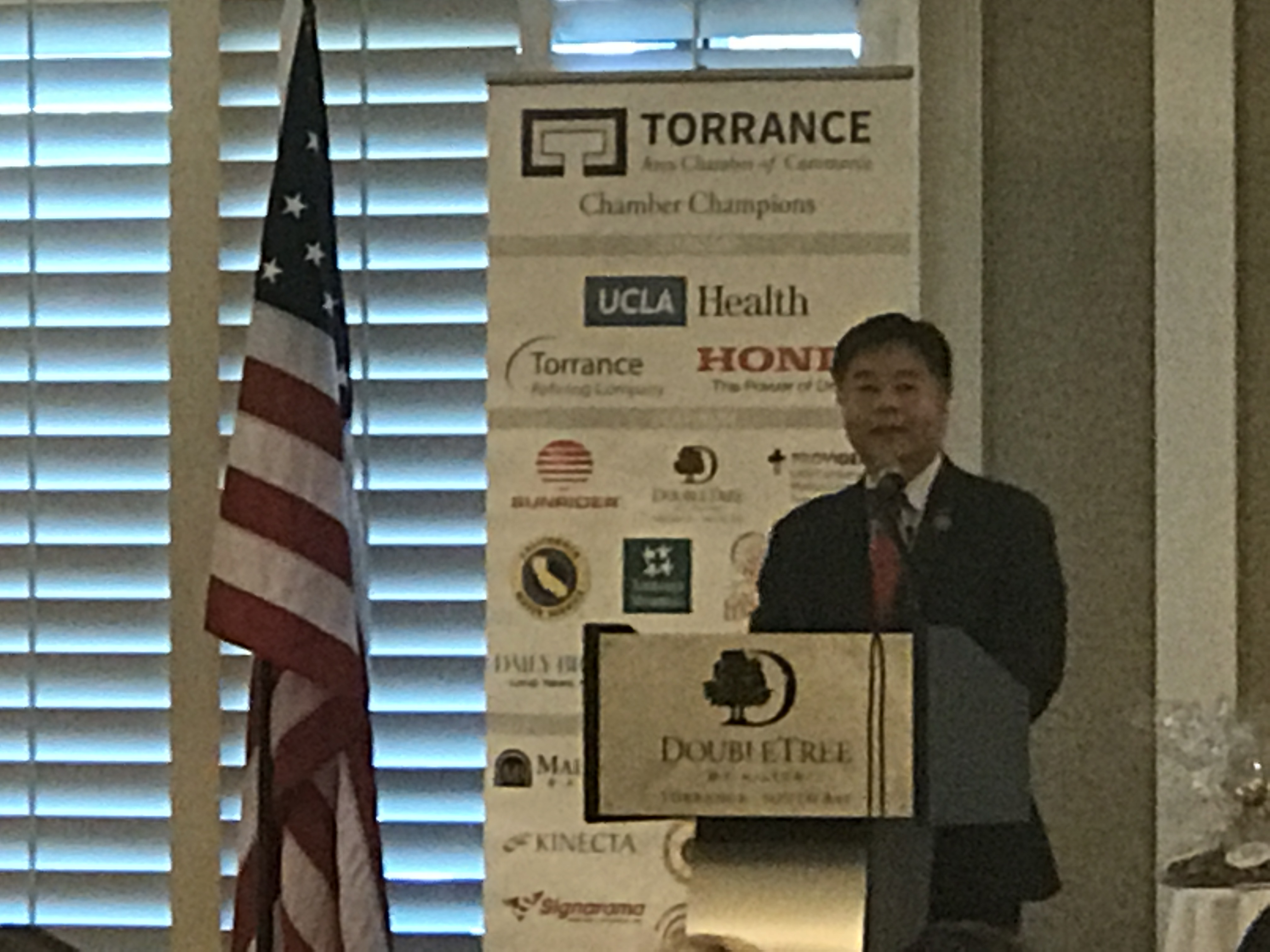 State of the Region Lunch, Ted Lieu