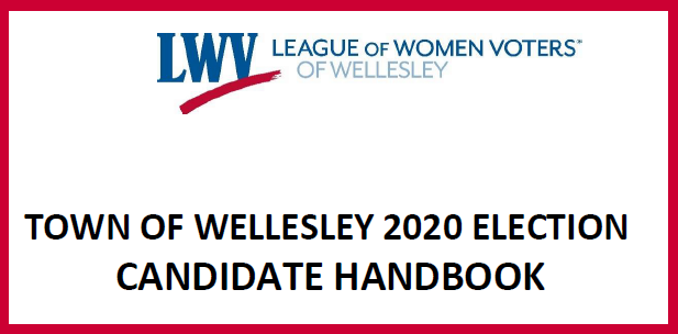 Wellesley 2020 Election Handbook