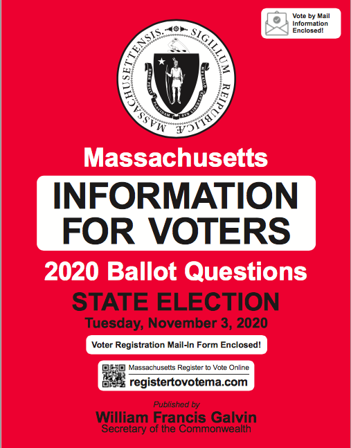 MA Information for Voters Guide