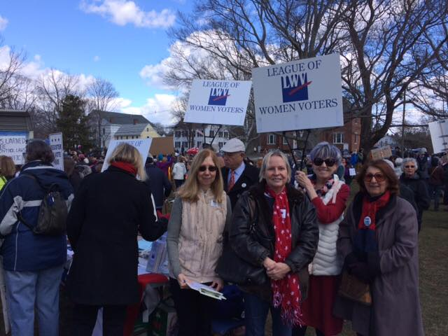 LWV East Shore members