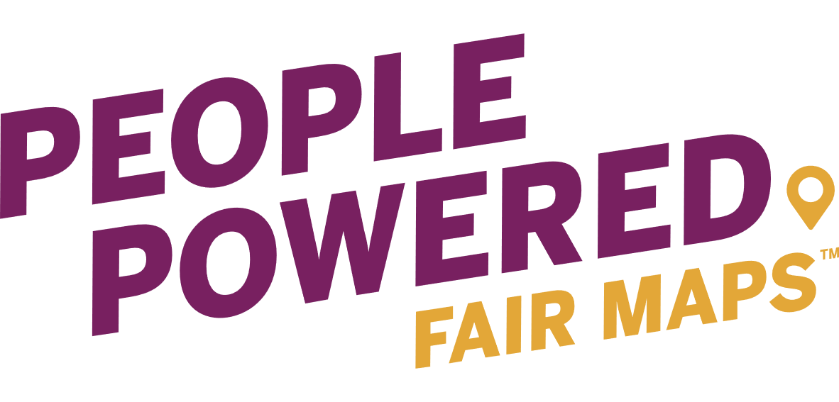 People Powered Fair Maps logo