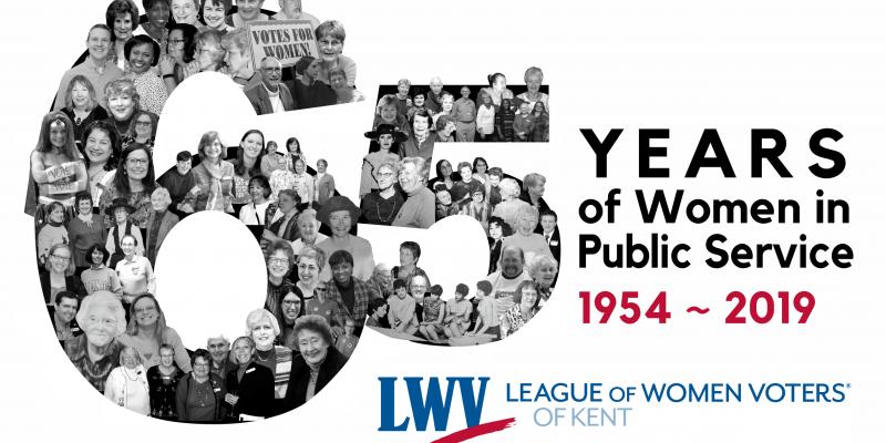 LWV Kent 65th Anniversary