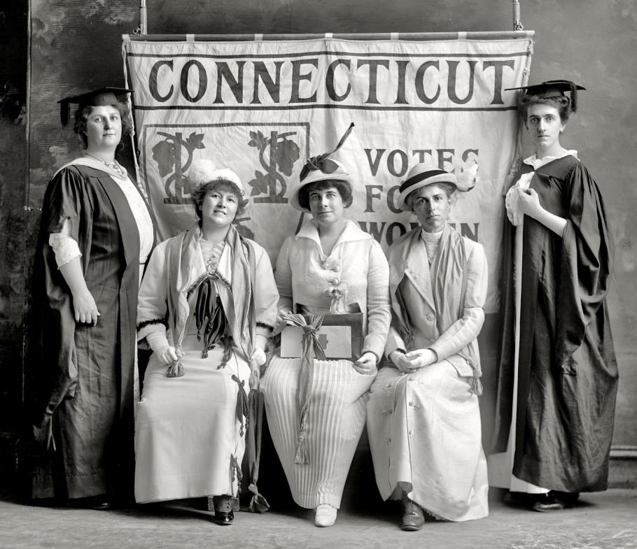 CT Women's suffrage