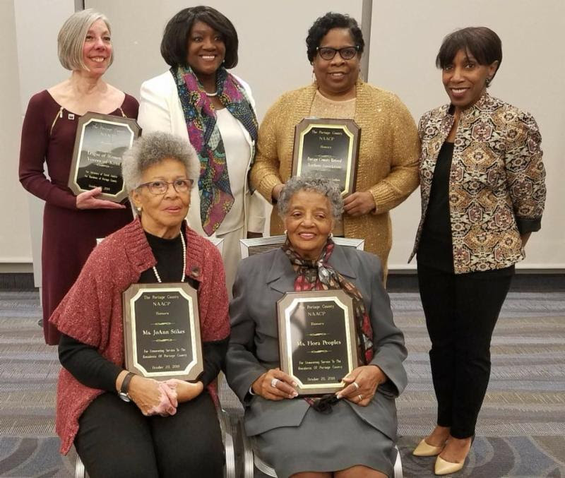 LWV Kent honored at NAACP Freedom Fund Dinner
